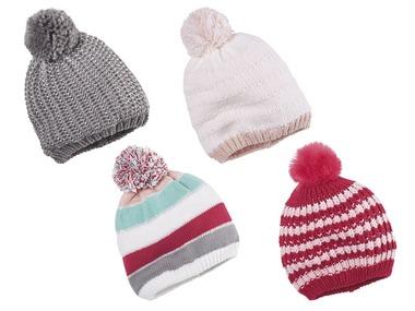 LUPILU® Dívčí pletená čepice