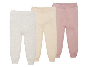 LUPILU® Dívčí pletené kalhoty