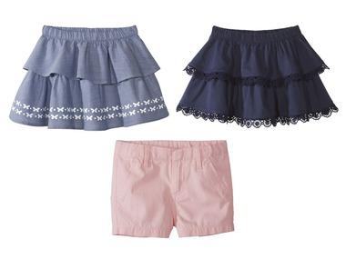 LUPILU® Dívčí sukně/šortky