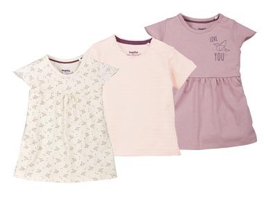 LUPILU® Dívčí triko s krátkými rukávy