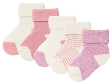 LUPILU® PURE COLLECTION Dívčí plyšové ponožky