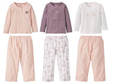 LUPILU® PURE COLLECTION Dívčí pyžamo
