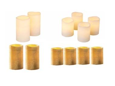MELINERA® LED svíčky z přírodního vosku