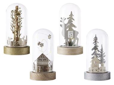 MELINERA® LED vánoční skleněná dekorace