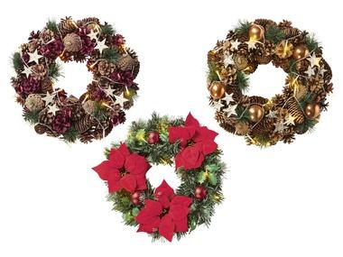 MELINERA® LED vánoční věnec