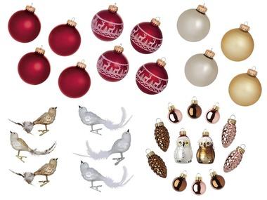 MELINERA® Skleněné vánoční ozdoby