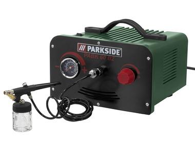 PARKSIDE® Airbrush sada s kompresorem PABK60B2