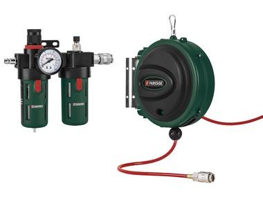 PARKSIDE® Pneumatická jednotka pro údržbu / Buben s tlakovou hadicí