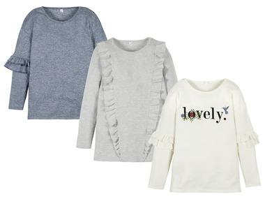 PEPPERTS® Dívčí triko s dlouhými rukávy