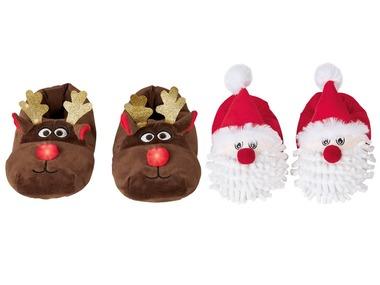 PEPPERTS® Dětská vánoční domácí obuv