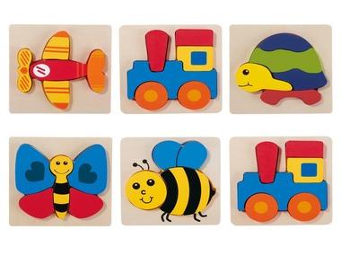 PLAYTIVE®JUNIOR Dřevěné puzzle pro nejmenší