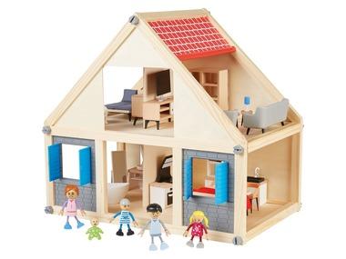 PLAYTIVE®JUNIOR Dřevěný domeček pro panenky