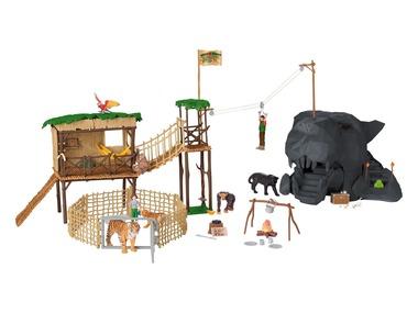 PLAYTIVE®JUNIOR Dobrodružné safari s divokými zvířaty