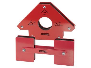 POWERFIX® Magnetický úhelník / Dvojitý magnet