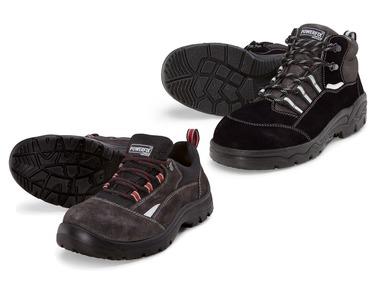 POWERFIX® Pánská kožená bezpečnostní obuv S3
