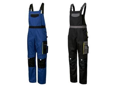 POWERFIX® Pánské pracovní kalhoty s laclem Profi