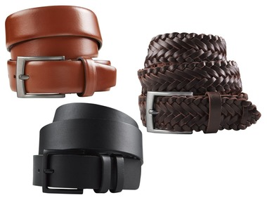 PREMIUM COLLECTION BY LIVERGY® Pánský kožený pásek