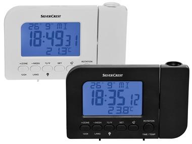 SILVERCREST® Budík s projekcí času 2 SFPW 360 A1
