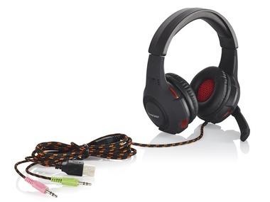 SILVERCREST® Herní sluchátka s mikrofonem