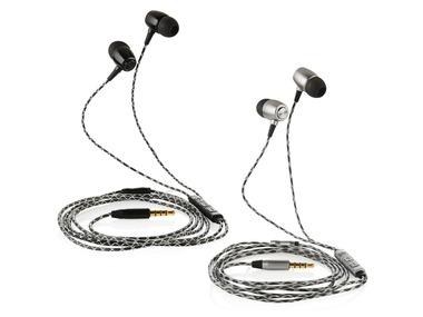 SILVERCREST® Sluchátka do uší s mikrofonem
