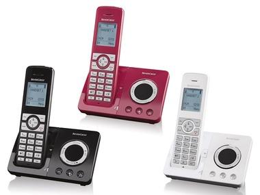 SILVERCREST® Bezdrátový telefon se záznamníkem SDT 1.9 B4