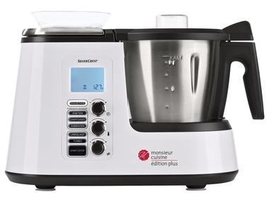 SILVERCREST® Multifunkční kuchyňský přístroj Monsieur Cuisine Plus SKMK 1200 C3