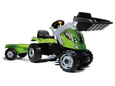 Smoby Farmer Max – traktor s nakladačem a přívěsem