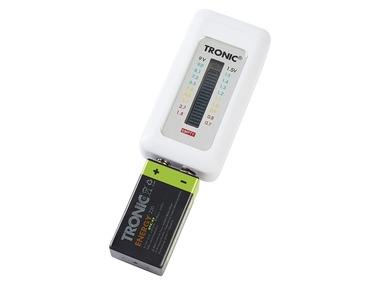 TRONIC® Digitální zkoušečka baterií