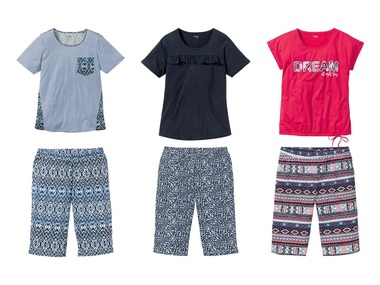 ESMARA®Lingerie Dámské pyžamo XXL BIO