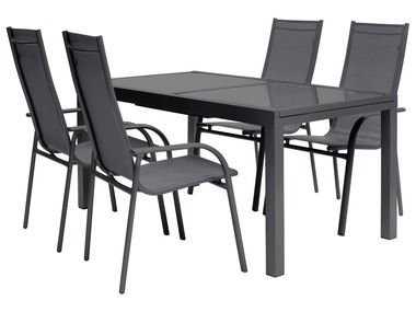 FLORABEST® Sada hliníkového zahradního nábytku