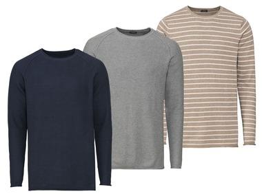 LIVERGY® Pánský svetr z jemného úpletu