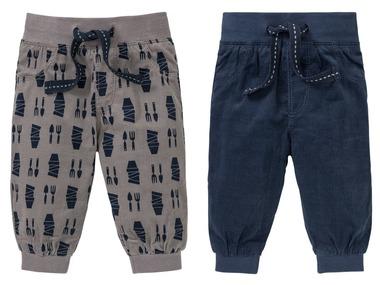 LUPILU® Chlapecké manšestrové kalhoty BIO