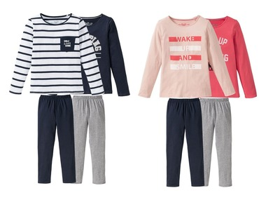 PEPPERTS® Dívčí pyžamo BIO
