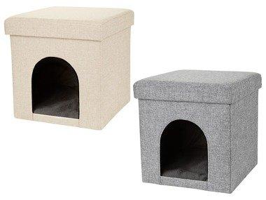 ZOOFARI® Taburet s pelíškem pro kočky