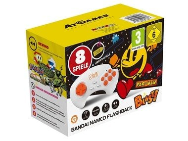 AT Games Herní konzole BANDAI NAMCO Flashback Blast! / Pac Man