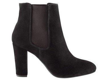 Dámská kožená kotníková obuv (36