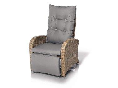 FLORABEST® Relaxační křeslo s podnožkou