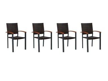 FLORABEST® Sada hliníkových židlí
