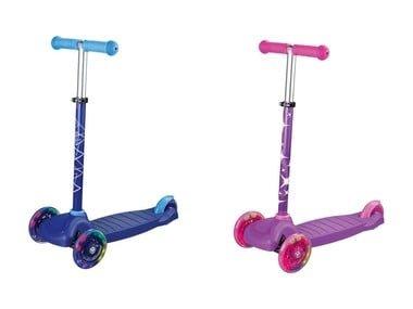 PLAYTIVE®JUNIOR Dětská trojkoloběžka s LED kolečky