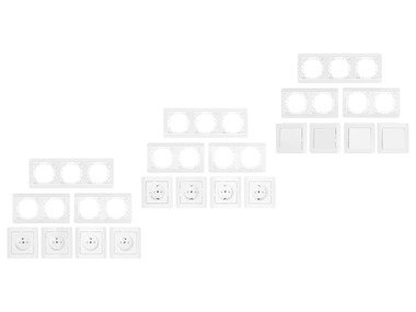 POWERFIX® Zásuvky / Vypínače / Stmívač osvětlení
