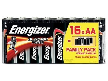 Alkaline Power Family Pack AA