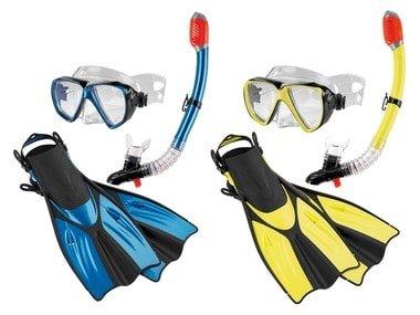 CRIVIT® Dámská/Pánská sada na potápění a šnorchlování