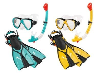 CRIVIT® Dětská sada na potápění a šnorchlování