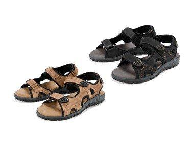 CRIVIT® Pánské kožené sandály