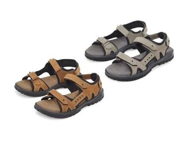 CRIVIT® Dámské kožené sandály