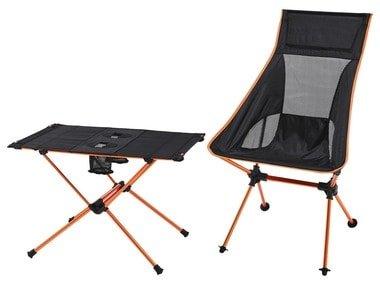 CRIVIT® Kempingový stůl/židle 313686