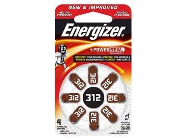 Energizer Baterie do naslouchadel 312 DP