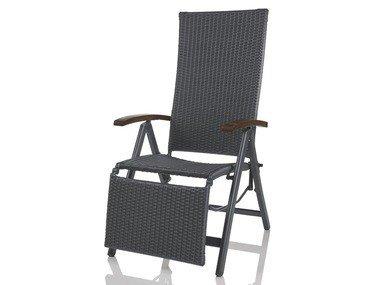 FLORABEST® Hliníkové polohovací křeslo
