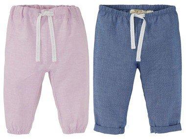 LUPILU® Dívčí kalhoty BIO