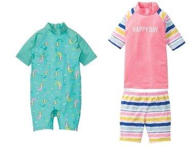 LUPILU® Dívčí koupací souprava / Oblek